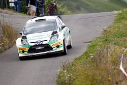 Sam Moffett and James O'Reilly, Ford Fiesta WRC