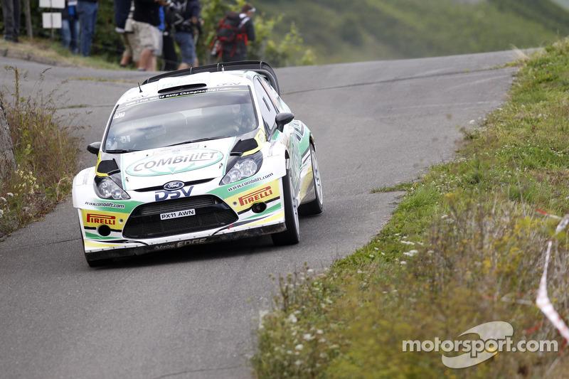 Sam Moffett and James O'Reilly, Ford Fiesta WRC