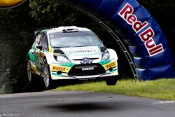 Sam Moffett en James O'Reilly, Ford Fiesta WRC