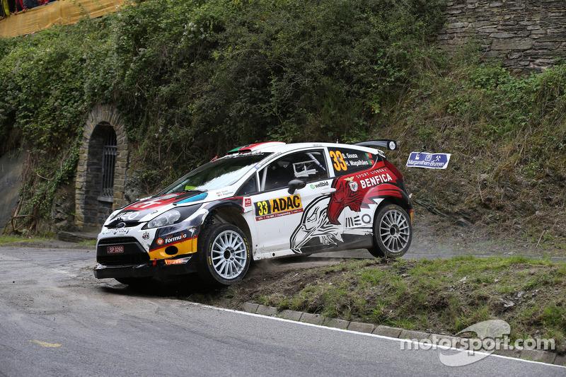 Bernardo Sousa y Hugo Magalhaes, Ford Fiesta RRC