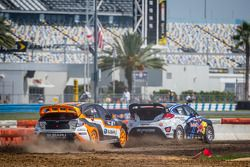 #67 Hyundai / Rhys Millen Racing Hyundai Veloster: Rhys Millen, #81 Subaru Rally Team USA Subaru WRX STi: Bucky Lasek