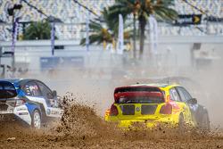 #34 大众 安德雷蒂 Rallycross 大众 Polo: 泰纳·福斯特, #11 斯巴鲁美国拉力车队 斯巴鲁 WRX STi: 斯韦勒·伊萨克森