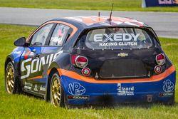 #59 Chevrolet Sonic Racing / PMR Motorsports Chevrolet Sonic: Pat Moro en difficulté