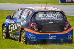 #59 Chevrolet Sonic Racing / PMR Motorsports Chevrolet Sonic: Pat Moro in trouble