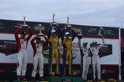 #94 Turner Motorsport BMW Z4: Dane Cameron Paul Dalla Lana, Markus Palttala ; #63 Scuderia Corsa Fer