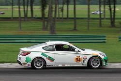 #94 Irish Mike's Racing Hyundai Genesis Coupe: David Thilenius, Cameron Lawrence
