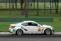#94 Irish Mike's Racing 现代 劳恩斯 Coupe: 大卫·蒂勒纽斯, 卡梅伦·劳伦斯