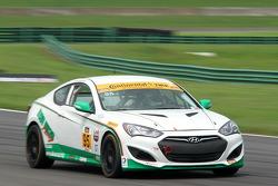 #95 Irish Mike's Racing Hyundai Genesis Coupe: Ramin Abdolvahabi, Craig Conway