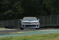#9 Stevenson Motorsports Camaro GS.R: Matt Bell. Andy Lally