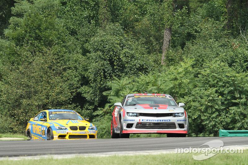 #6 Stevenson Motorsports 科迈罗 GS.R: 罗宾·利德尔, 安德鲁·戴维斯