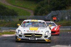 #6 Rowe Racing Mercedes SLS AMG GT3: Thomas Jäger, Jan Seyffarth