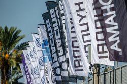 Global Rallycross flags