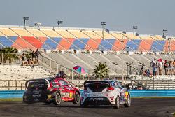 #07 SH Racing Rallycross Ford Fiesta ST: Nelson Piquet Jr., #67 Hyundai / Rhys Millen Racing Hyundai