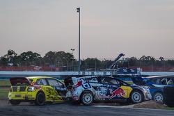 #31 Olsbergs MSE Ford Fiesta ST: Joni Wiman, #34 Volkswagen Andretti Rallycross Volkswagen Polo: Tan