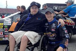 Aaron Grosskopf ve ARCA pilot Justin Boston