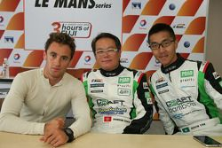 Pole position : Mathias Beche, Kevin Tse, Samson Chan