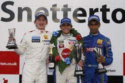 Podium: Matteo Ferrer, Pietro Fittipaldi, Tarun Reddy