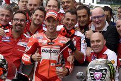 Second place qualifying for Andrea Dovizioso, Ducati Team