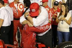 Tony Kanaan, Chip Ganassi Racing Chevrolet et Chip Ganassi