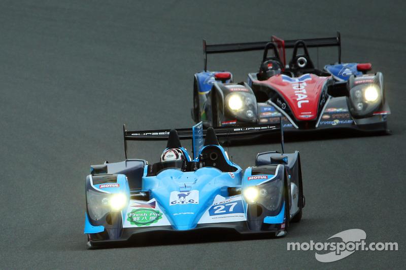 #27 Eurasia Motorsport Oreca-Nissan: Jun Jin Pu, John Hartshorne, Richard Bradley e #1 Oak Racing Te