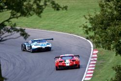 #6 PGF - Kinfaun AMR Aston Martin Vantage GT3: Phil Dryburgh, John Gaw ; 29 AF Corse Ferrari 458 Italia GT3: Pasin Lathouras, Matt Griffin