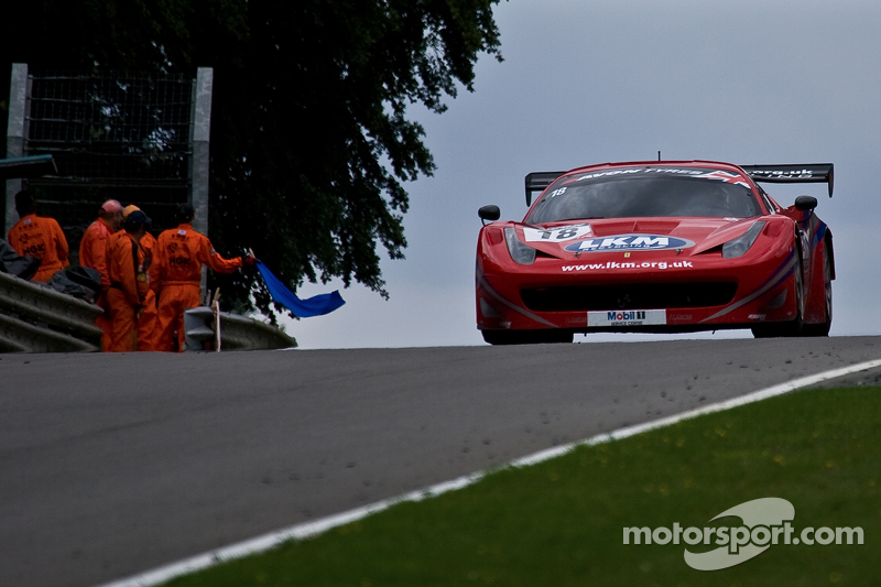 #18 FF Corse 法拉利 458 Italia GT3: 加里·伊斯特伍德, 亚当·卡罗尔