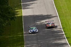 #1 Beechdean AMR Aston Martin Vantage GT3: Andrew Howard Jonny Adam #18 FF Corse Ferrari 458 Italia GT3: Gary Eastwood, Adam Carroll