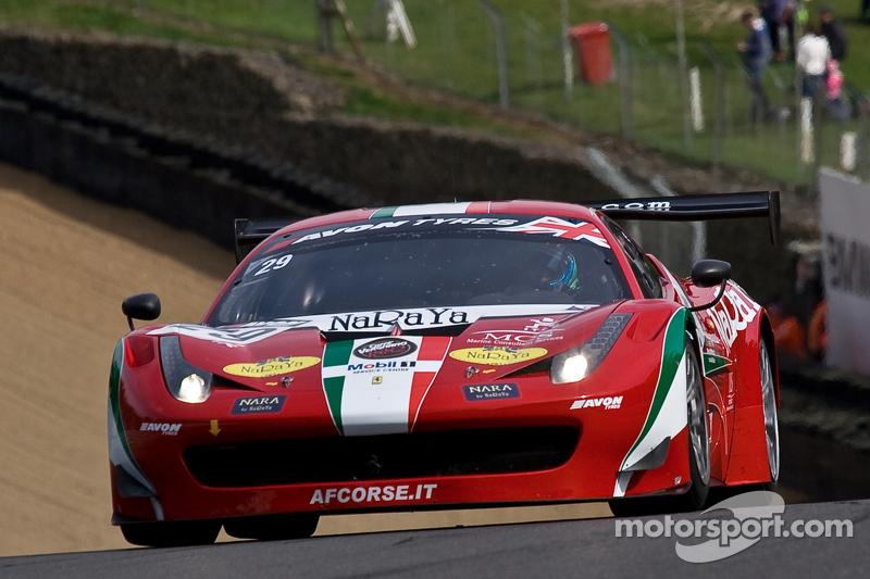 #29 AF Corse 法拉利 458 Italia GT3: 帕辛·拉图拉斯, 马特·格里芬