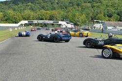 Group 5在勒芒式发车后冲出赛道