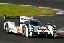Porsche 919 Hybrid impegnata nei test