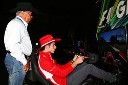 Alexander Rossi, Marussia F1 Team terzo pilota con Mario Andretti, Ambasciatore Ufficiale del Circui