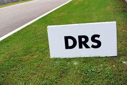 DRS zone marker board