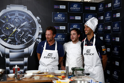 Pranzo Casio Edifice Launch alla Red Bull Energy Station, Christian Horner, Red Bull Racing Team Pri