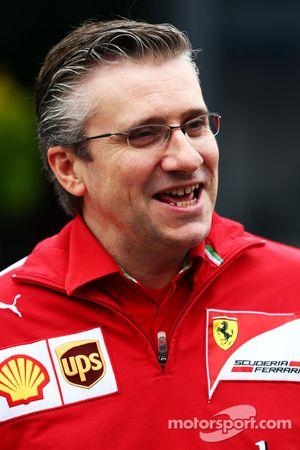 Pat Fry, Ferrari Yardımcı Teknik Şefi ve Yarış Mühendisliği Bölüm Başkanı