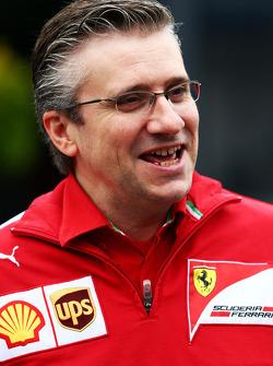 Pat Fry, Ferrari waarnemend technisch directeur en Head of Race Engineering