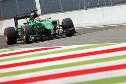 Roberto Merhi, Caterham CT05 Test Pilotu