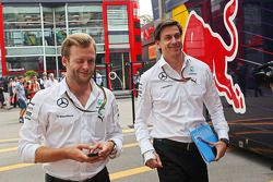 Toto Wolff, Mercedes AMG F1 Shareholder and Executive Director (Right)