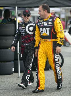 Kyle Larson et Ryan Newman