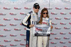 杆位获得者 Brad Keselowski, Penske福特车队