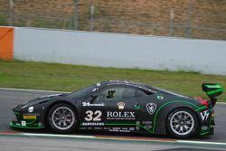 #32 Kessel Racing Ferrari 458 Italia GT3: Jonathan Sicart, Nicola Cadei, Giacomo Piccini, Frederic D
