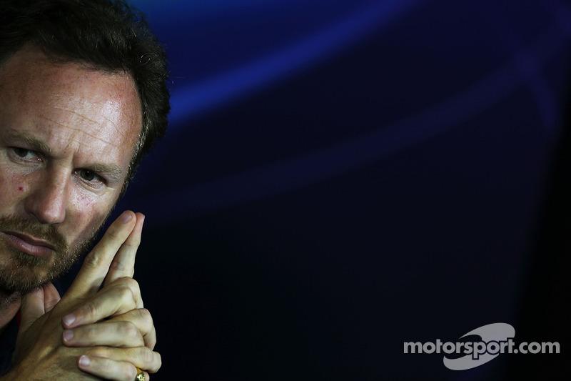 Christian Horner, Red Bull Racing Takım Patronu FIA Basın Konferansı'nda