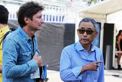 (L to R): Guido Pozzi, with Hiroshi Yasukawa, Dorna Sports Adviser