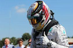 Pole position Lewis Hamilton, Mercedes AMG F1