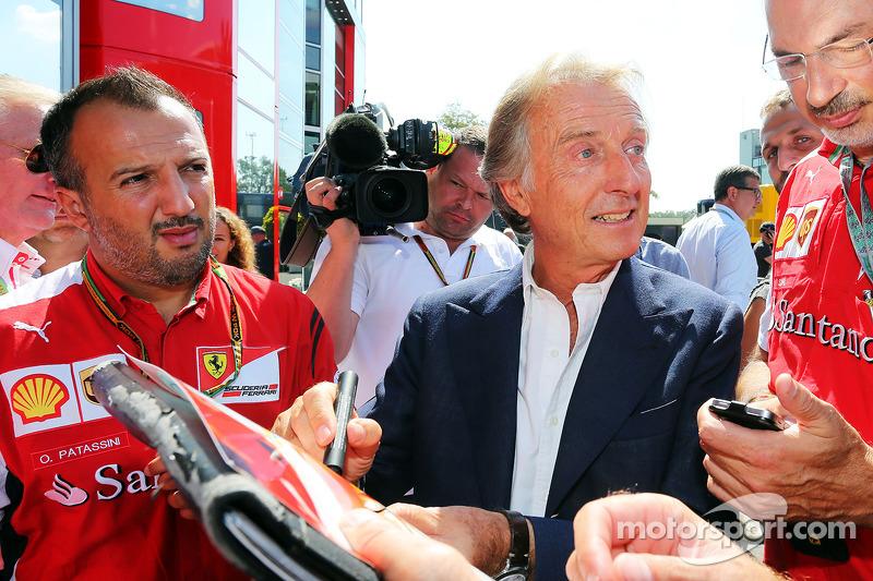 Luca di Montezemolo, Ferrari Başkanı ve medya