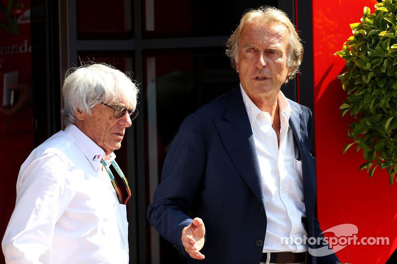 Bernie Ecclestone avec Luca di Montezemolo