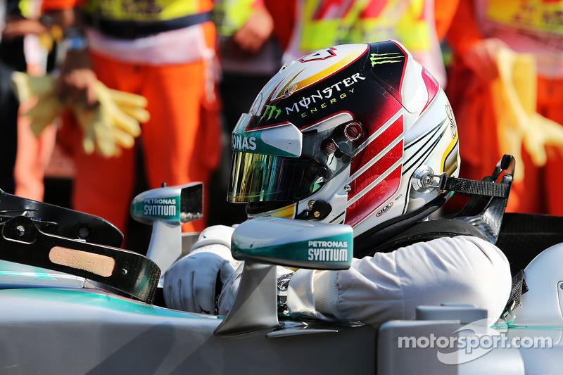 El británico en Monza 2014