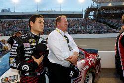 Kyle Larson and Chip Ganassi
