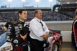 Kyle Larson et Chip Ganassi