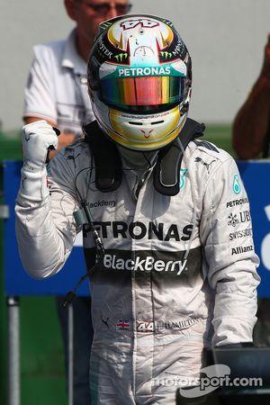 Vainqueur: Lewis Hamilton, Mercedes AMG F1