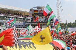 Podium: 1er Lewis Hamilton, Mercedes AMG F1, 2ème Nico Rosberg, Mercedes AMG F1 et 3ème Felipe Massa, Williams F1